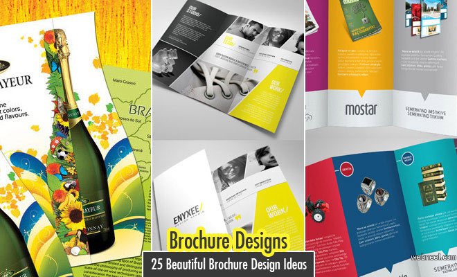 Brochure designs inspiration for Brochure design layout ideas