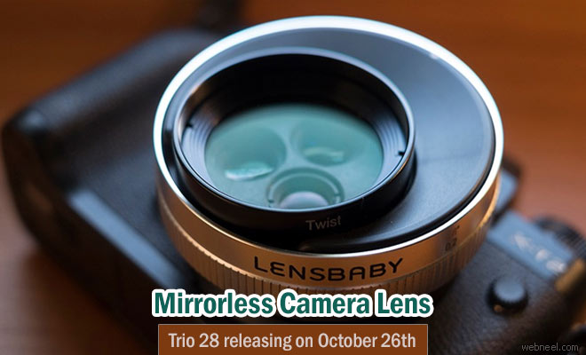 Lensbaby releases it's all new Mirrorless Camera Lens