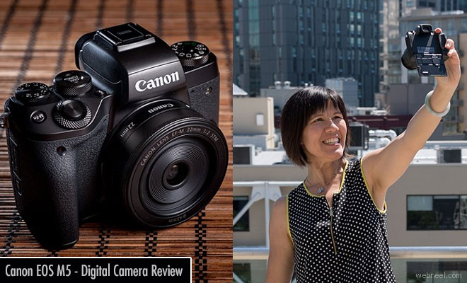 Canon EOS M5 - Mirrorless Digital Camera Review