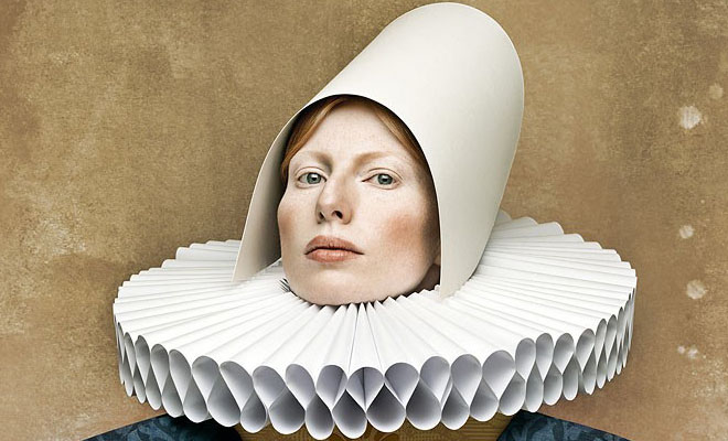 20 CardBoard Ladies - Unusual Photography concept by Christian Tagliavini