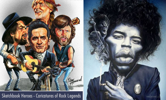 Caricature Exhibition by International Society of Caricature Artists at Cleveland USA - Oct 6 - 22