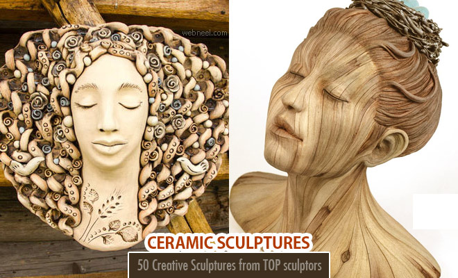 50 Creative and Stunning Ceramic Sculptures from top sculptors