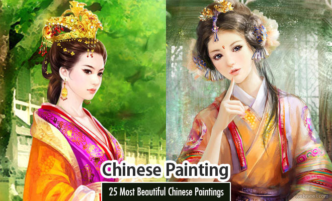 25 Most Beautiful Chinese Paintings for your inspiration
