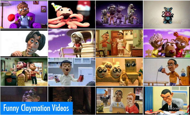 16 Funny Claymation TV Commercials Videos for your inspiration