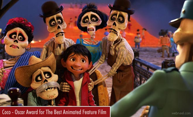 Oscar Award for The Best Animated Feature Film - Coco is all Set to Bag The Honors
