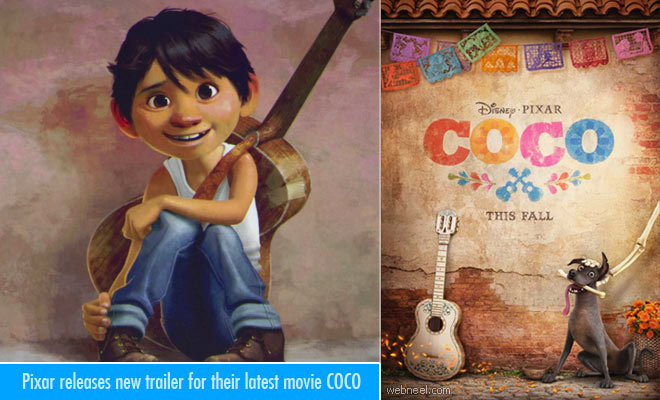 Pixar releases new trailer for their latest movie COCO