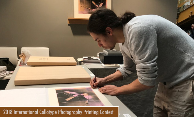 Contemporary Collotype Printing and Photography Contest - entries by June 30