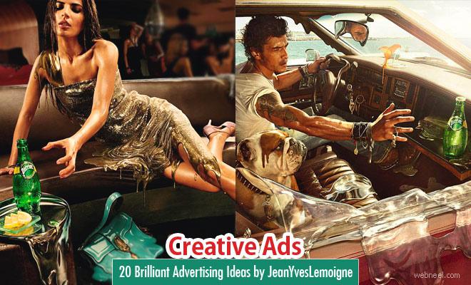 40 Creative Advertising Ideas by Jean Yves Lemoigne