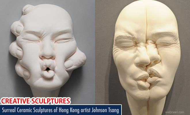 Stunning Surreal Ceramic Sculptures of Hong Kong sculptor Johnson Tsang
