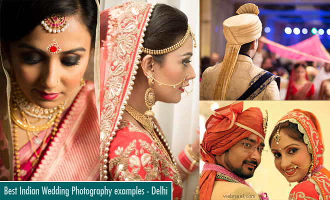 Top 10 Wedding Photographers in Delhi - Best Indian Wedding Photography inspiration