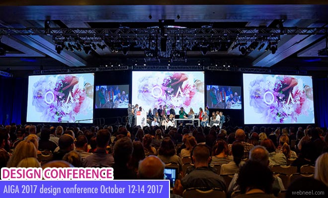 Unveil your creative skills at AIGA 2017 design conference October 12-14 2017