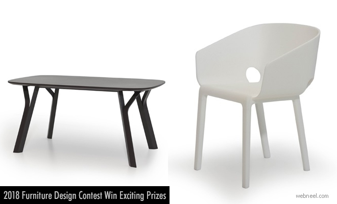 Creative Seating and Innovate Table Design Contest - Andreu invites entries by 30 Nov 2018