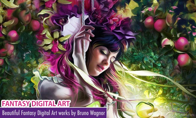 Beautiful Fantasy Digital Art works by Bruno Wagnor