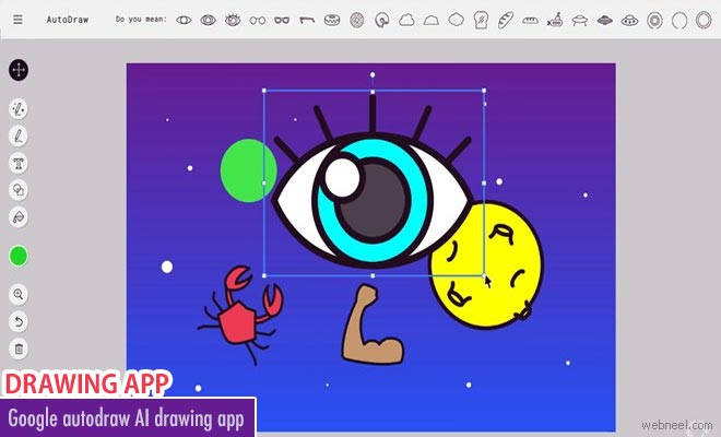 Convert your crude scribbles into artwork with Google Autodraw AI drawing app