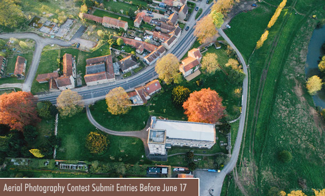 Drone Awards - Aerial Photography contest accepting entries till 17 June 2018