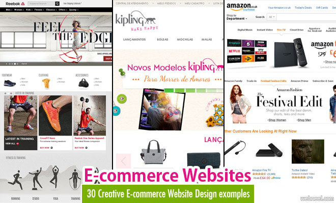 e commerce sites templates - 25 animated home page web design examples for your inspiration