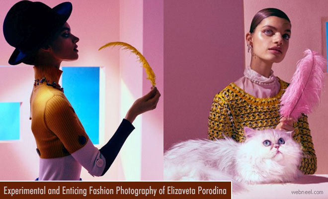 Experimental and enticing Fashion Photography of Elizaveta Porodina