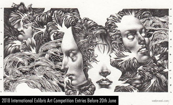 Biennial International Exlibris Art Contest - entries 20 June 2018