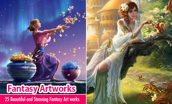 25 Beautiful and Stunning Fantasy Art works for your inspiration
