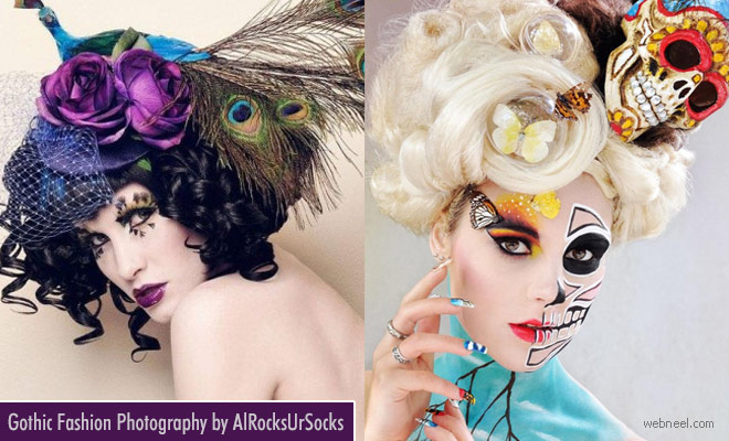 Stunning and Gothic Fashion Photography examples by AlRocksursocks