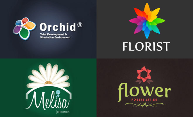 50 Creative Flower Logo design Inspiration - Part 2