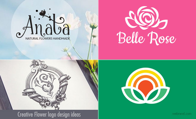 70 Best and Creative Flower Logo design ideas for your inspiration