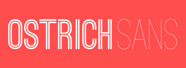 ostrich sans 135 15 Professional Fonts for Web and Graphic Designers