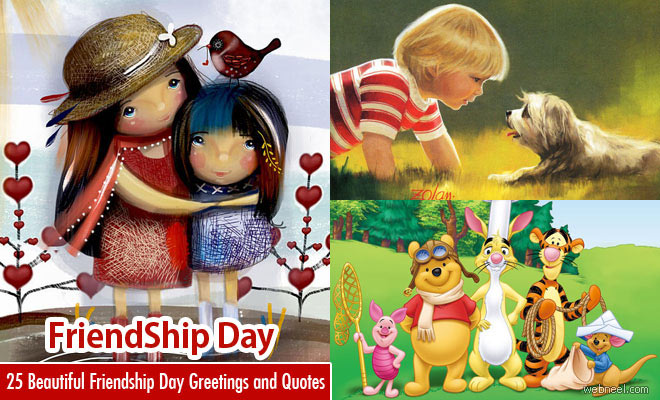25 Beautiful Friendship Day Greetings Designs and Quotes