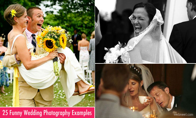25 Funny Wedding Photography examples for your inspiration