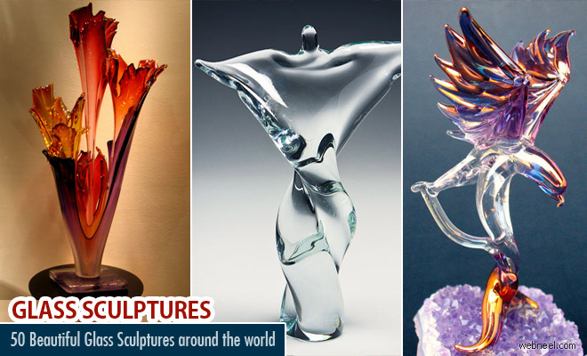 40 Beautiful Glass Sculpture Ideas and Hand Blown Glass Sculptures