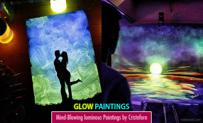 15 mind-blowing luminous paintings by italian artist cristoforo scorpinti