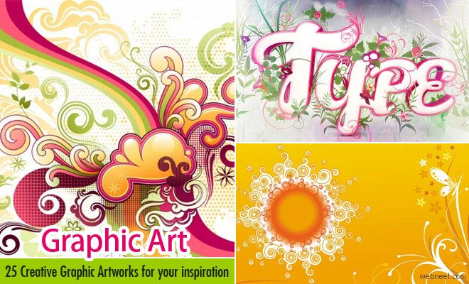 25 Creative Graphic Art and Graphic Design Art works for your ...