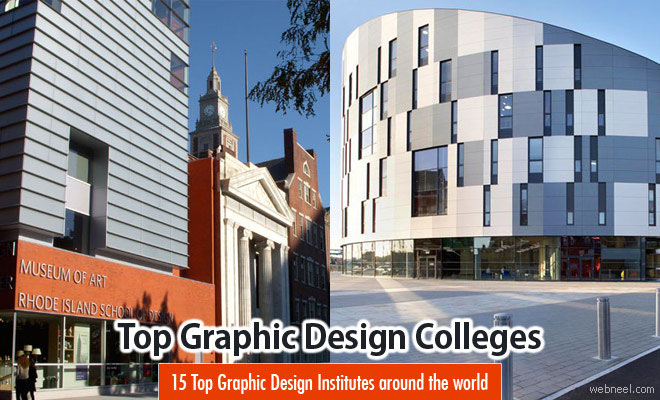 15 Top Graphic Design Colleges, Schools and Online Degrees around the world
