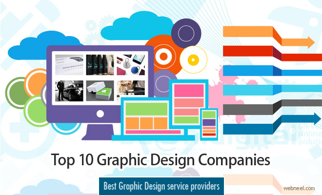 Top 10 Best Graphic Design Company Websites from around the world