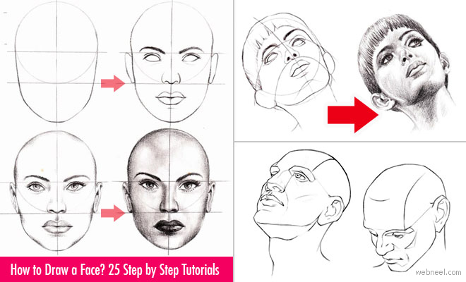 How To Draw Faces Step By Step Realistic