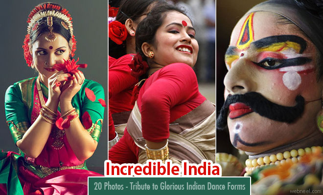 20 Incredible India Photos - Tribute to Glorious Indian Dance Forms