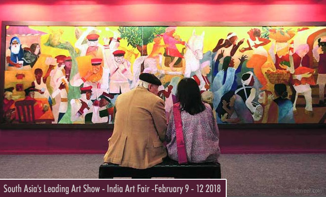 South Asias Leading Art Show - India Art Fair and Festival - Feb 9 2018