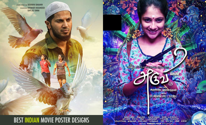Indian movie poster designs