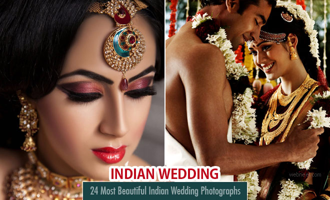 24 Most Beautiful Indian Wedding Photography examples