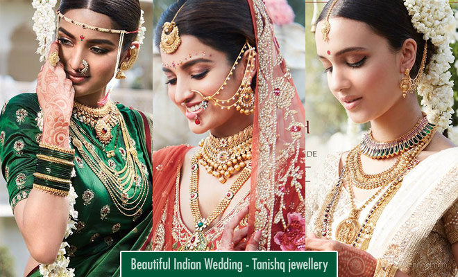Stunning Tanishq Wedding Collection Jewellry for a Beautiful Indian Wedding