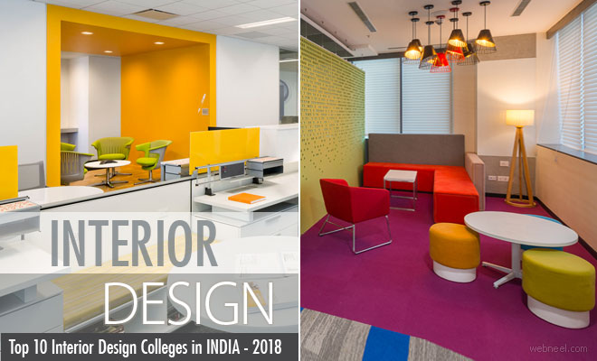 Top 10 Best Interior Design schools and colleges in India - 2018