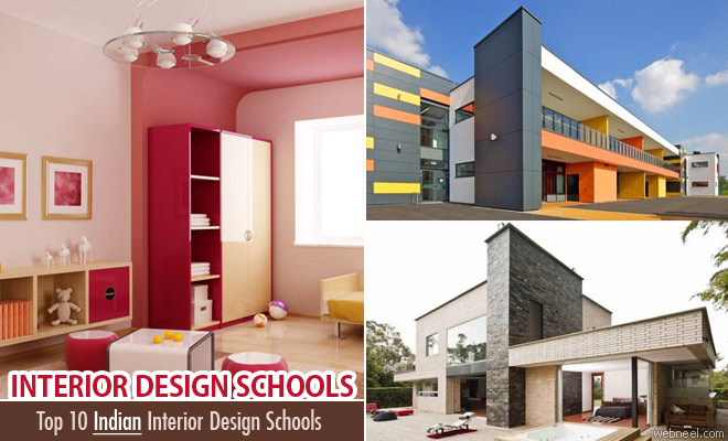 Top 10 interior design schools and colleges from india for Best house interior designs in india