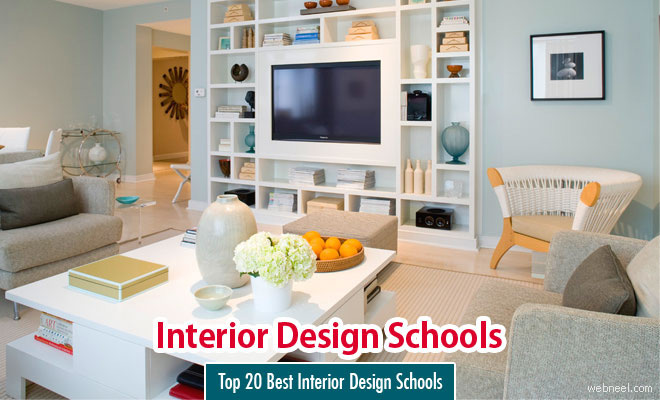 Top 20 Best Interior Design Schools in the world in 2015