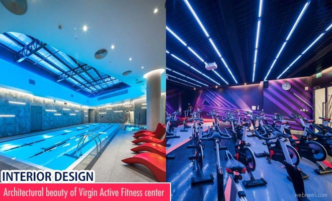Architectural Beauty of Virgin Active Fitness Center - Interior Design Inspiration