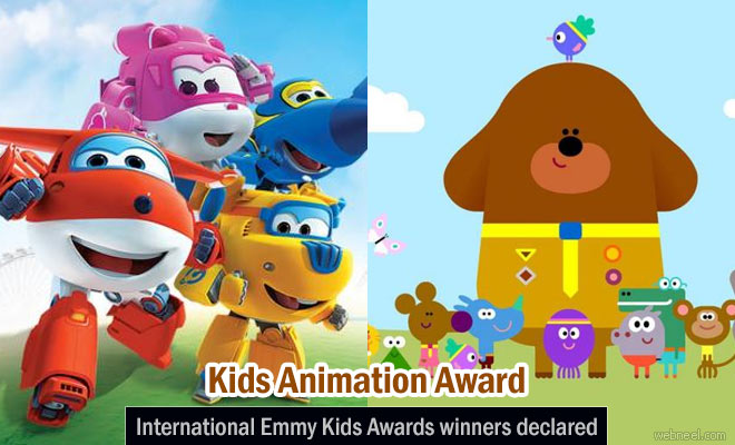 International Emmy Kids Animation awards Nominees for 2016 have been released on April 4th, 2017