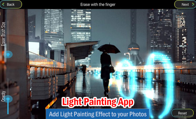 Add Light Painting Effect to your Photos - Photo Editing App