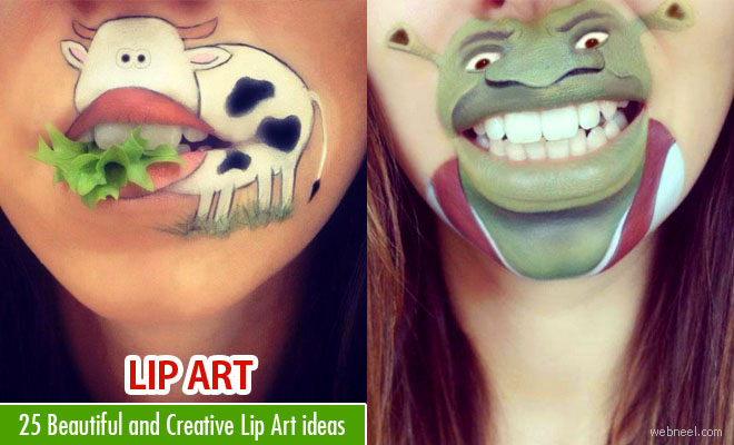 25 Beautiful and Creative Lip Art ideas created by Laura Jenkinson
