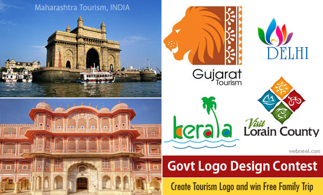 Logo Design Contest for making Govt Tourism logo and win Free family trip