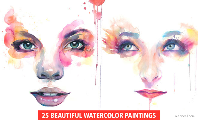 Watercolor Paintings by Artist Marion Bolognesi