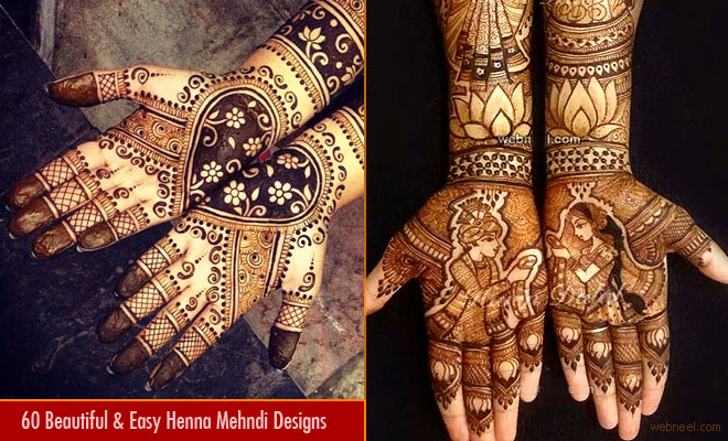 60 Beautiful and Easy Henna Mehndi Designs for every occasion - Part 3